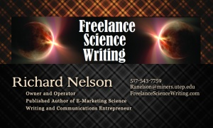 Science Writing Resources